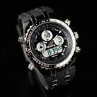 INFANTRY Digital Quartz Mens Wrist Watch Date Day Chronograph Rubber Army Sport  image