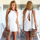Women's Sexy Straps Sleeveless Casual Shorts Playsuits Slim Jumpsuit Romper - CB