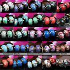 5X Howlite Turquoise Shell Loose Gemstone European Beads Fit Charm Bracelet DIY