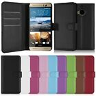 FHybrid Leather Card Pouch Flip Wallet Case Cover Stand For HTC One M9+ M9 Plus