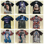Fashion 3d Printed Sexy T-shirt Men Women Galaxy Space Tee Hiphop Music Arts Top