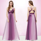Hot V-neck Beaded Long Formal Evening Party Dresses Cocktail Prom Gown 09735