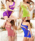 Sexy Fishnet Bodystocking Bodysuit Lingerie Sheer Babydoll Sleepwear Temptation