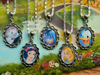 DISNEY CHARM NECKLACE ALICE WONDERLAND MARIE EEYORE DONALD DUCK SNOW WHITE