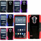 For LG G Stylo LS770 /G4 Stylus Hybrid Stand Soft Hard Dirt Proof Cover Case