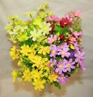 artificial cosmos  garden outdoor hanging basket trough planter flowers