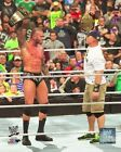 John Cena & Randy Orton WWE Action Photo (Select Size)