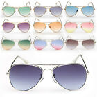 RETRO GRADIENT COLOURS AVIATOR SUNGLASSES UV400 DESIGNER MENS LADIES UNISEX