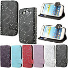 Card Slot Flip Stand Magnetic Wallet Leather Bumper Case Cover for Cell Phone