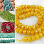 "10 color  5x8mm Natural Faceted Abacus Loose Beads Gemstone 15"" AAA"