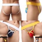 Hot Sexy Men's Backless Underwear Low Rise Jockstrap Briefs Thong Shorts S M L