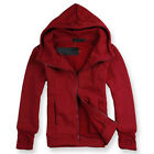 Fashion Mens Slim Fit Long Sleeve cotton Hoody Jacket Coat Boy Outwear M - XXL