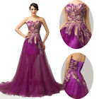 2015 Women Vintage Long Maxi Cocktail Bridesmaid Formal Evening Dress Gowns 6-20