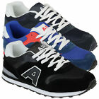 Mens Trainers Air Tech Shoes Jogging Lace Up Running Gym Mesh Casual Sports New
