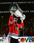 Patrick Sharp Chicago Blackhawks 2015 Stanley Cup Trophy Photo (Select Size)