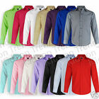 Boys Formal Shirt All Colours Kids Wedding Party Long Sleeved Shirt Age 1 2 3 4