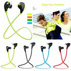 Sports Wireless Stereo Bluetooth Headset Headphone Earphone For Smartphone