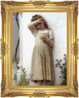 Framed In Penitence by William Bouguereau Painting Reproduction Canvas Fine Art