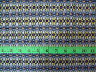HAPPY CHRISTMAS - BLUE PATTERN 100% cotton patchwork fabric