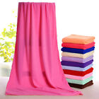 70x140 Absorbent Microfiber Drying Bath Beach Towel Washcloth Swimwear Shower AA