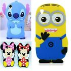 3D Cellphone silicone case cover for Sony Xperia Z1 Z2 Z3 mini Z4 E1 E3 E4 M2 C3
