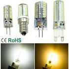 3/5/6/7/9W G4 G9 E14 Silica Gel Dimmable SMD LED Bulb Lamp Light Warm/Cool White