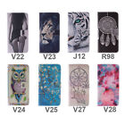 PU Leather Wallet Flip Stand Card Case Cover For Alcatel One Touch Pop C7/ C9