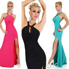Sexy Women's Maxi Summer Dress Full Length Wedding Cocktail Party Dress 3 colors