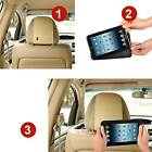 Car Headrest Mount Holder For Samsung Galaxy Tab P3100 Case Cover with 3M velcro
