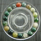"""10mm Stylish all kinds can be stretched round Gemstone bracelet wholesale 7.5 """""""