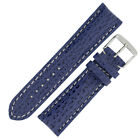Breitling Style Shark Hide Watch Strap a...