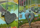 ANGEL BABY WINGS LILY NECKLACE PENDANT LOSS MISCARRIAGE MEMORIAL LOCKET PRAYING