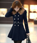 New Women's Double Breasted Slim Casual Business Blazer Suit Jacket Coat Outwear