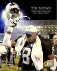 Tim Brown Oakland Raiders 1000th Career Catch Photo (Select Size)
