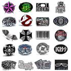 BBUM0345 MANY CASUAL STYLES CARTOON / MUSIC / SYMBOLS ALLOY METAL BELT BUCKLE