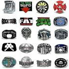 BBUM0355 MANY STYLES LETTERS / MUSIC / OCCUPATION / SKULL ALLOY BELT BUCKLE
