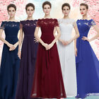 Ever Pretty Royal Blue Bridesmaid New Formal Long Evening Party Gown Dress 08490