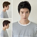 Vogue Men Wig Handsome Sexy Korean Boys Short Hair Cosplay Male Full Wigs 3Color