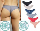 Lot Of 6 Women Sport Cotton Blend Bikini Panties Briefs Underwear S M L XL #8332