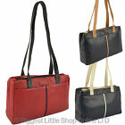 NEW Ladies LEATHER Handbag by GiGi OTHELLO Collection Stylish Two-Tone Classic