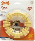 Nylabone Dure Chew TEXTURED CHEW RING Dog Toy Oral Health