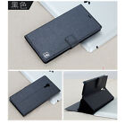 Hot Slim Magnetic PU Leather Silk Stand Wallet Cover Skin Case For MeiZu M2 Note