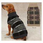 CHOOSE SIZE & COLOR - East Side Collection - CHESTERFIELD DOG PUPPY SWEATER