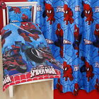 Ultimate Spiderman City Thwip Single Duvet & Matching Curtains Bedding Set Gift