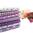 "3 Colors Series 7 Assorted Pre-Cut Charm Cotton Quilt Fabric 19.7"" Fat Quarters"