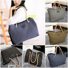 Fashion Korean Women Canvas Shoulder Bag Totes Purse Handbag Ladies Hobo Satchel