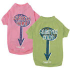 Choose Size - Zack & Zoey - Scratch Here - Dog Puppy Tee Shirt - Pink or Green