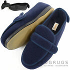 Mens Orthopaedic / EEE Wide Fit Adjustable Velcro Slipper Boot / Slipper