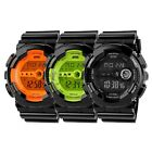 Mens Watch Shockproof Waterproof LED Digital Alarm Sports Army Wristwatch