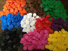 16mm Opaque Plastic Board Game Counters Tiddly winks Numeracy Teaching 10 colors